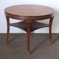 0N577 Régi art deco körasztal szalonasztal