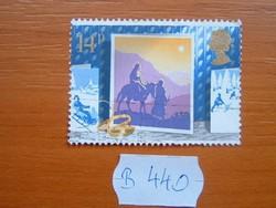 ANGOL ANGLIA 14 P 1988 KARÁCSONY B440