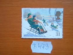 ANGOL ANGLIA 31 P 1990 KARÁCSONY B473