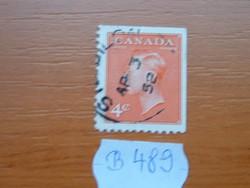 KANADA 4 CENT 1949-51 VI. GYÖRGY KIRÁLY B489