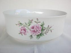Alföldi porcelán tál rózsás