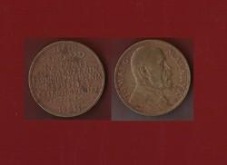 Masaryk bronz emlékérem 1935