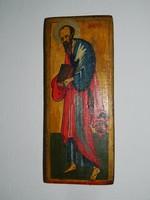 Szigeti Erzsébet ikonfestő kézzel festett másolat eredeti technikával : pecséttel