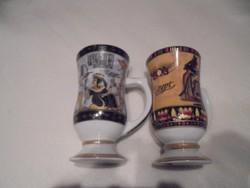Egyiptomi mintás csészék