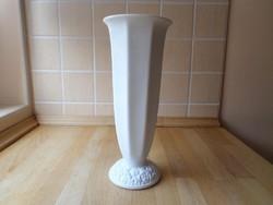 Rosenthal Maria Weiss Classic Rose fehér porcelán váza 27 cm