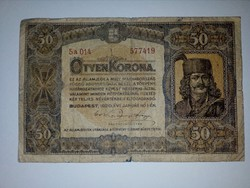 1920-as 50 korona