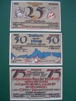 Németország Pfennig sor 1921 UNC.