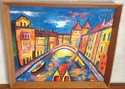 Vén Emil festmény 41,5 X 50 cm