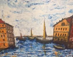 Vén Emil festmény 42,5 X 52,5 cm