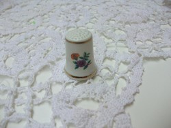 Hollóházi gyűszű porcelán gyűszű eladó