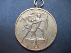Német náci érem kitüntetés