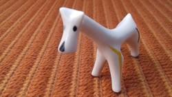 Különleges art deco herendi kutya