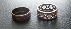 2 db. gyűrű