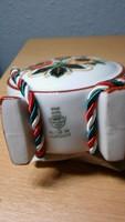 Zsolnay porcelán kulacsok 3 db