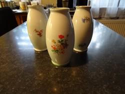 3 darabos Hollóházi váza csomag