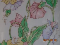 Szecessziós virág mintás-újszerű- Ben Rickert-USA-Japánban készült szappantartó-16,5 x 12  cm