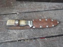 Régi vadász tör kés bicska ( katonai hagyaték )